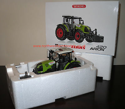 Wiking 1/32 Scale Claas Arion 420 Model Tractor (Mib) **in Stock**