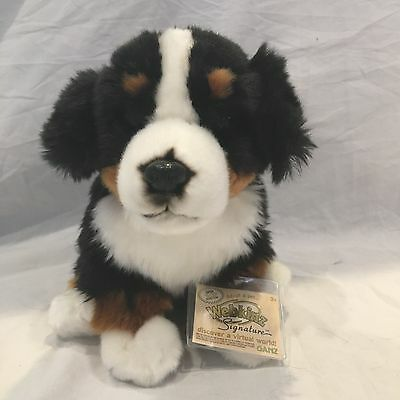 Webkinz Signature Bernese Mountain Dog WITH CODE New Condition