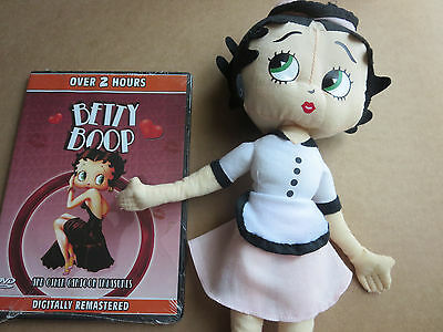 Betty Boop Collectible Stuffed Doll DVD Collector's Edition