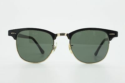 VINTAGE * RAY BAN W0365 * CLUBMASTER G15 / B&L / MADE in U.S.A / HAS CRACK