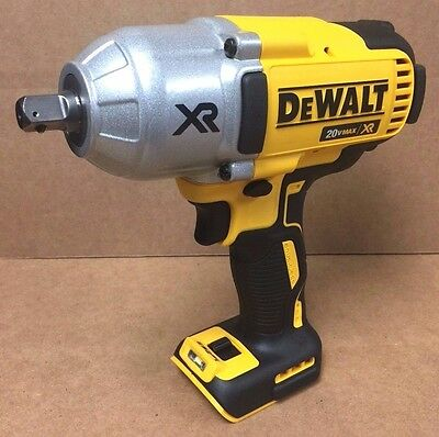 "Dewalt DCF899B 20v MAX* XR Brushless 1/2"" Impact Wrench, Detent (Bare) NEW"