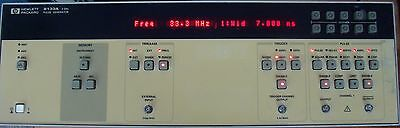 HP AGILENT KEYSIGHT 8133A 3 GHz PULSE GENERATOR W/ MANUAL! CALIBRATED !