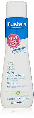 Mustela Bath Oil for Dry Skin - 6.76 fl. Oz.