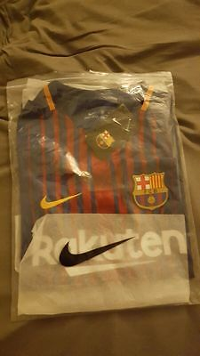 Maillot FC Barcelone Domicile 2017-2018 NEUF, Taille M