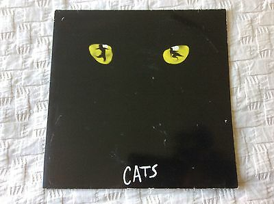 Double LP Of Cats By The Original Cast, Andrew Lloyd Webber, CATX 001, VG+/VG+