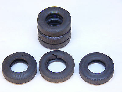 HESS  Toy Truck Parts Original OEM  6 Tires For 1986 or 1989