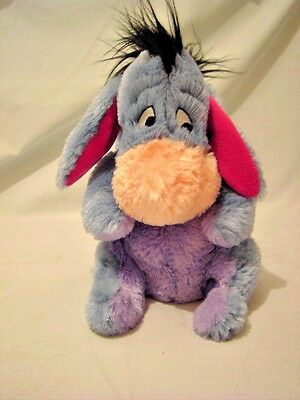 9'' Disney Store Eeyore From Winnie The Pooh  Soft Toy Very Cuddly