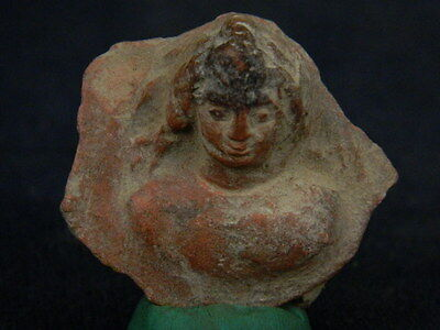 Ancient Teracotta Bust Roman C.200 BC  #TR919