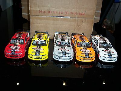 Set Of 5 1/24 Action/lionel Hood Open 2014 Diecast Crazy Dcz Forum Mustang (S)