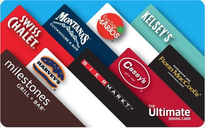 The Ultimate Dining Card - 50$