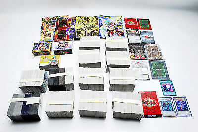 Yu-Gi-Oh! Cards Wholesale Lot of Over 3,000! Japanese Version #5886