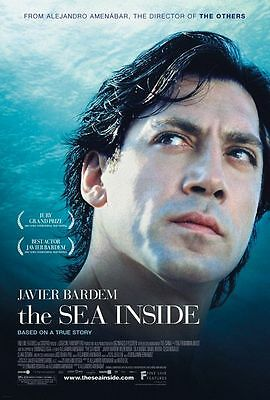 The Sea Inside Orignal US One Sheet Movie Poster DS