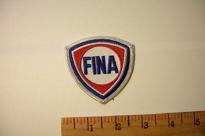 Fina Petro Vintage Gas And Oil Embroidered Patch