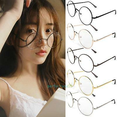 Durable Fashion Cosplay Costume Glasses Dress Up Spectacles Retro Round Eyewear