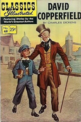 CLASSICS ILLUSTRATED #48(DAVID COPPERFIELD) high grade, $3 offers accepted