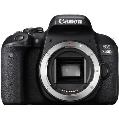 BRAND NEW CANON EOS 800D BODY ONLY DIGITAL SLR CAMERA (Kit box)