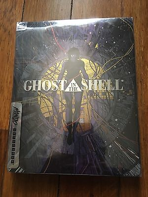 Ghost In The Shell Steelbook Edition (Blu-ray Disc + Digital HD, 2017) New