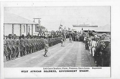 West African Soldiers Government Wharf