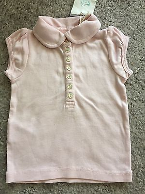 COUNTRY ROAD BABY GIRLS PALE PINK TOP - 0 to 3 Months - BNWT