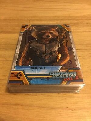 2017 Upper Deck Guardians Of The Galaxy Purple Parallel Cards xx/99 *Choose One*