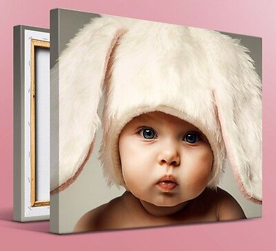 Custom Photo Canvas Print Art Upload Your Own Photo Personalized Gallery Wrap
