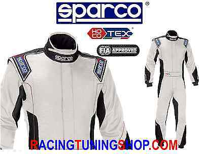 SPARCO EAGLE SUIT HOCOTEX SIZE 60 white OVERALL SPARCO SUIT RACE RALLY FIA