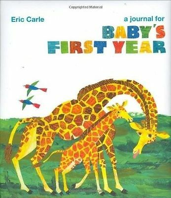 NEW - A Journal for Baby's First Year, Eric Carle, Hungary Caterpillar