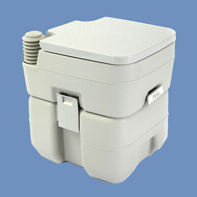 5 Gallon 20L Portable Toilet Flush Travel Camping Commode Potty Outdoor/Indoor