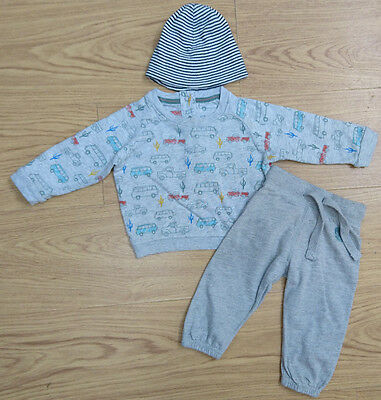 Next Marks & Spencer Baby Boys Bundle Age 6-9 Months Jumper Joggers Outfit