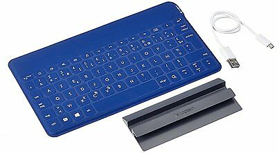 Logitech Keys-To-Go AZERTY French Keyboard for Apple, Android and Windows