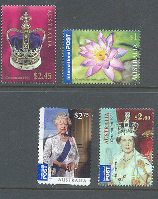 Australia-recent issues fine used postally-good value