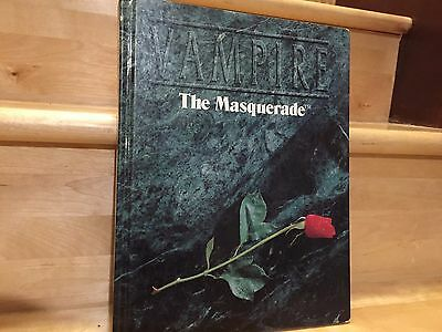 Vampire the Masquerade White Wolf 2002 Hard Cover Second Edition Tabletop RPG