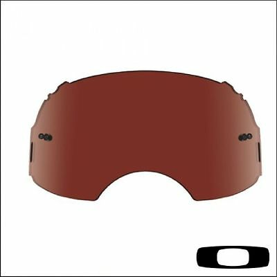 Lente di ricambio in plutonite specifica per Oakley Airbrake MX Rossa Vr28