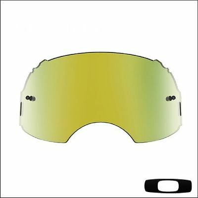 Lente di ricambio in plutonite specifica per Oakley Airbrake MX Iridium