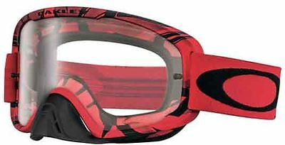 Maschera cross Oakley Occhiale O2 Intimidator blood red