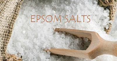EPSOM BATH SALTS | Pharmaceutical/Food Grade | Magnesium Sulphate | 50g
