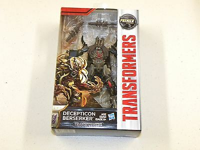 Transformers The Last Knight Premier Edition BERSERKER Deluxe Class Figure
