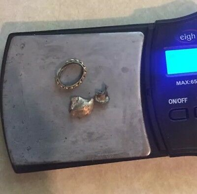 Lot Of 18k Gold Dental And Other 2.6g