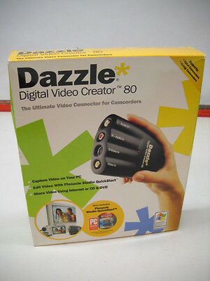 DAZZLE DIGITAL VIDEO CREATOR 80-CONNECTOR FOR CAMCORDERS - NEW Sealed