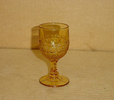 Eapg Amber Laverne Star In Honeycomb Wine Bryce 1880's