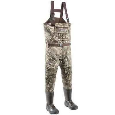 Allen Skybuster Neoprene Bootfoot Chest Wader Size 9 Realtree MAX-5 12939
