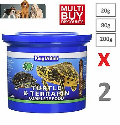 King British Turtle And Terrapin Complete Balanced Food With Krill - OFFER!!!!!!