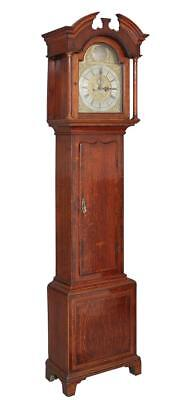 18Th Century Oak Longcase Clock By William Hill