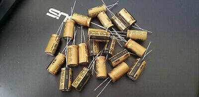 Nichicon ufg/ufw capacitors. Single Individual Capacitors.