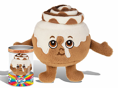 """New-Super Whiffer Sniffers-Howie Rolls-Up-11"""" Soft Plush-Cinnamon Roll Scented!"""