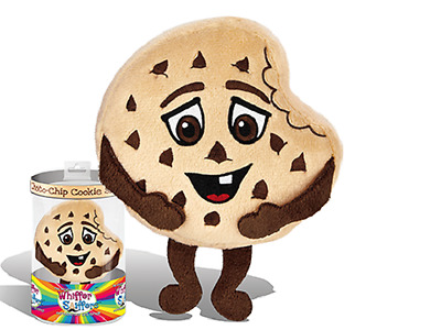 """New-Super Whiffer Sniffers-Chunky Chuck-11"""" Plush-Chocolate Chip Cookie Scented!"""