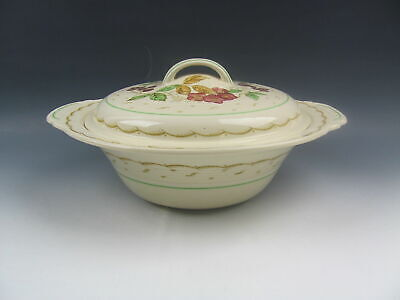Wood & Sons China BRAMBLE Round Covered Vegetable VERY GOOD