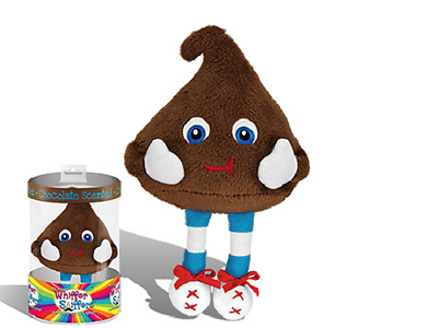 """New-Super Whiffer Sniffers-Chocolate Chip-12"""" Very Soft Plush-Chocolate Scented!"""