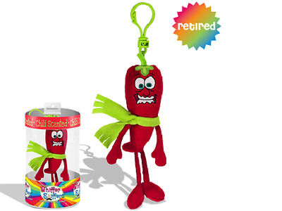 New-Whiffer Sniffers-Chilly Pepper-Spicy Chilli  Scented Plush Backpack Clip