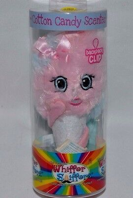 New-Whiffer Sniffers-Katie Cotton Candy Scented-Series 3-Backpack Clip-Pink,blue